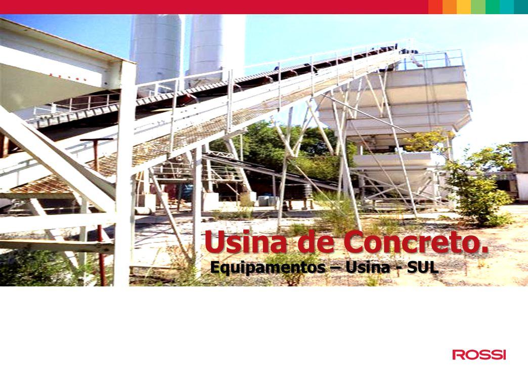 História da Rossi e panorama atual Usina de Concreto - SUL Usina de Concreto.