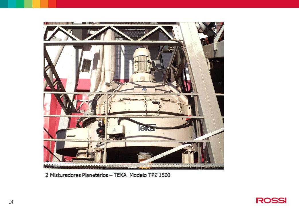 14 2 Misturadores Planetários – TEKA Modelo TPZ 1500