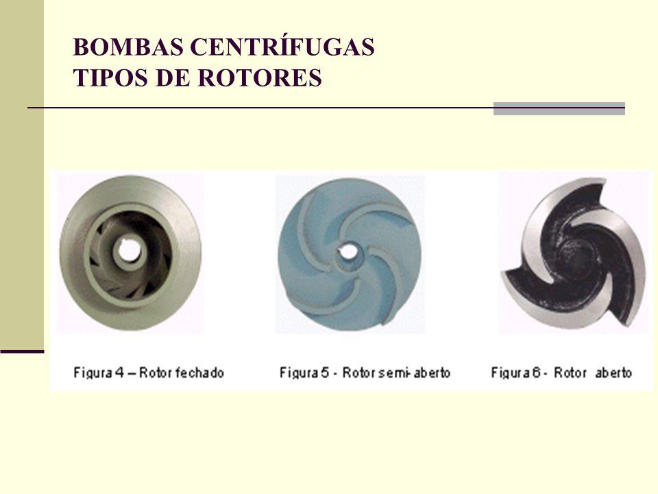 BOMBAS CENTRÍFUGAS TIPOS DE ROTORES