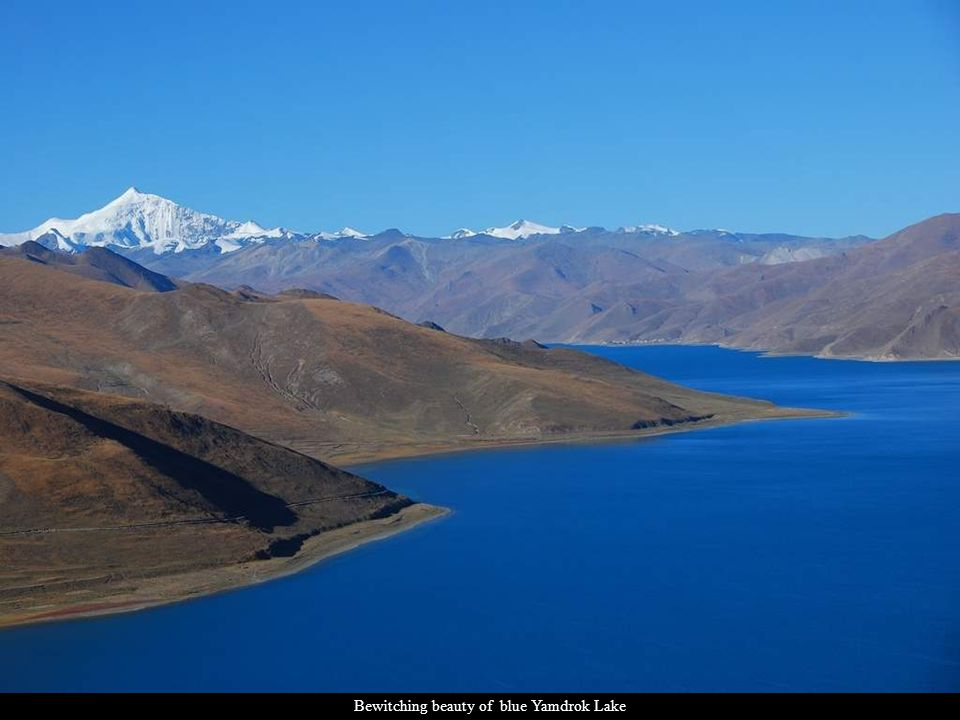 Bewitching beauty of blue Yamdrok Lake