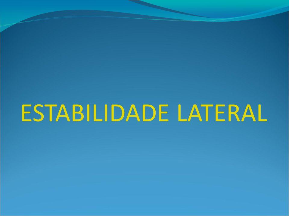 ESTABILIDADE LATERAL