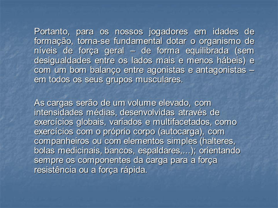 F.ESPECIAL (AO LONGO DA ÉPOCA) F. DIRIGIDA (PRÉ-ÉPOCA / INÍCIO DA ÉPOCA) F.