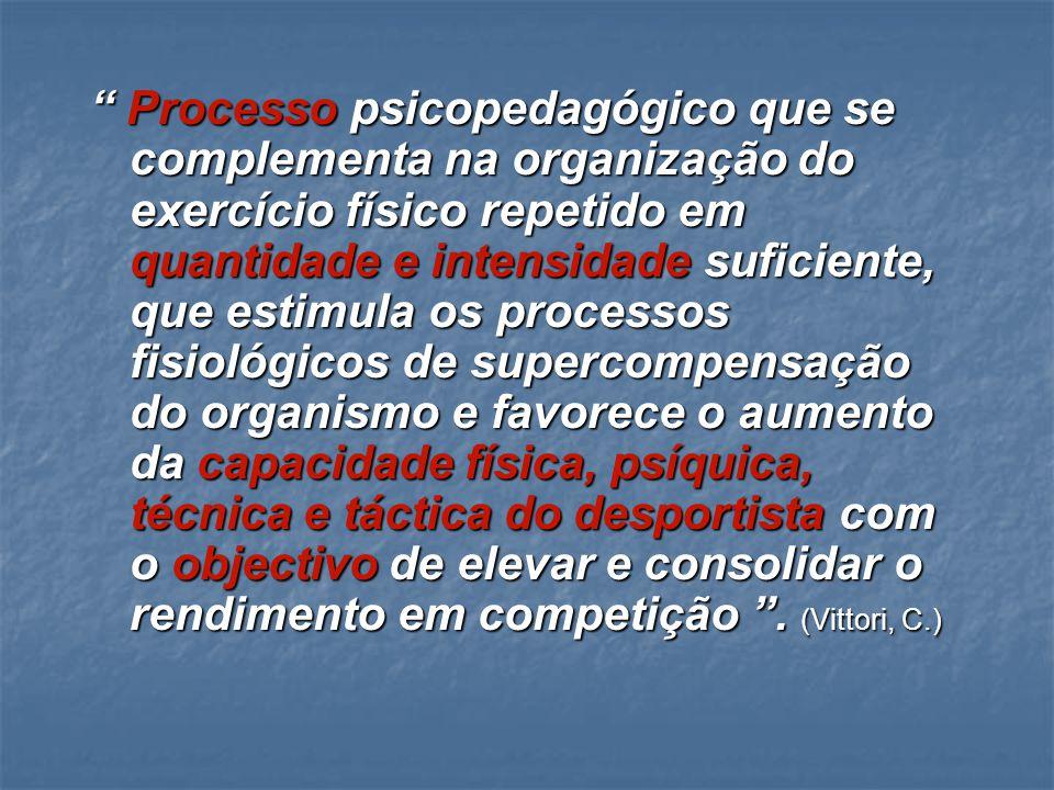 3. O TREINO