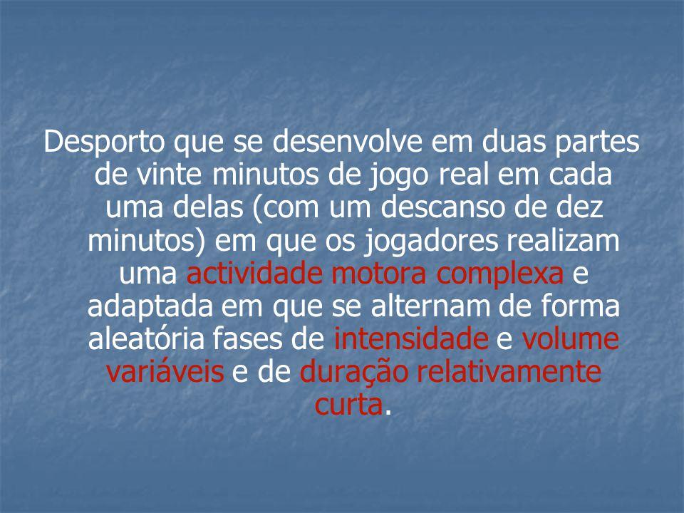 G) Velocidade de Acção/Reacção: O futsal é um desporto no qual se produzem estímulos aleatórios de forma imprevisível, portanto é muito importante diferenciar a velocidade de acção/reacção, já que este tipo de velocidade constitui-se como a chave das situações tácticas de 1x1 e 2x2, tão importantes e habituais no nosso desporto.