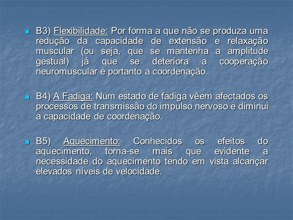 B) FACTOR TREINO B) FACTOR TREINO B1) Força: Uma melhoria da velocidade encontra-se ligada a uma melhoria da força.