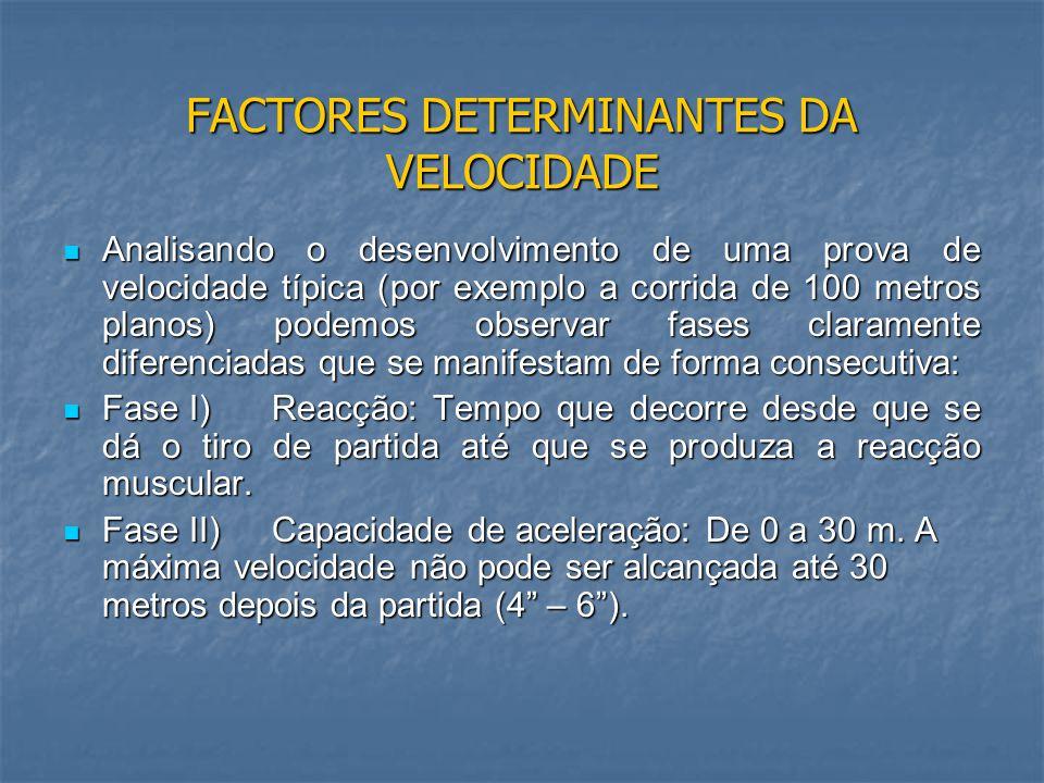 C) FACTOR NERVOSO C) FACTOR NERVOSO C1) Coordenação inter e intramuscular: Só uma coordenação óptima permite melhorar a cooperação agonista / antagonista, da mesma forma que o número de unidades motoras activadas estabelece a magnitude da força de aceleração da musculatura implicada no movimento.