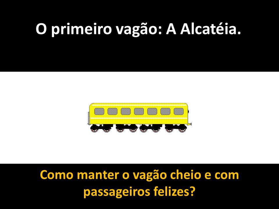 O primeiro vagão: A Alcatéia. Como manter o vagão cheio e com passageiros felizes?