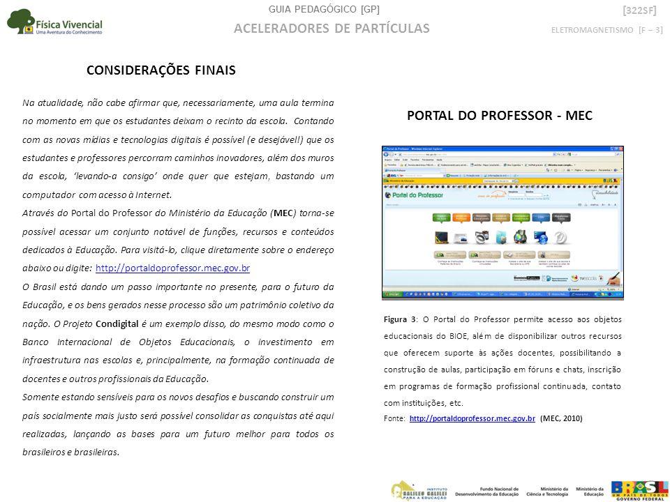 GUIA PEDAGÓGICO [GP] ELETROMAGNETISMO [F – 3] ACELERADORES DE PARTÍCULAS [ 322SF ] AUTORIA GERAL Cassiano Zeferino de Carvalho Neto (CARVALHO NETO, C.