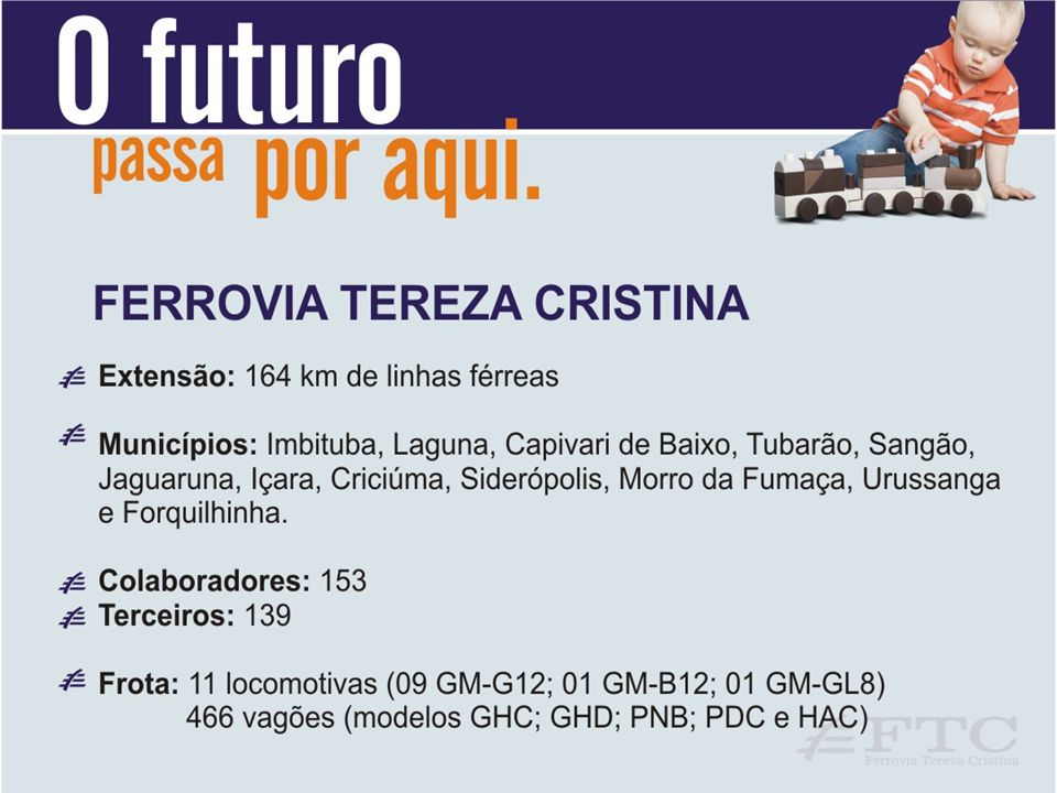 MALHA FERROVIÁRIA FTC