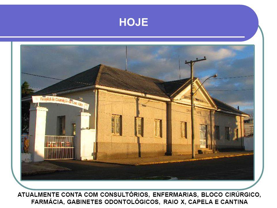 DÉCADA DE 1960 PRIMEIRO DIRETOR: CAPITÃO MÉDICO JONAS DE MIRANDA