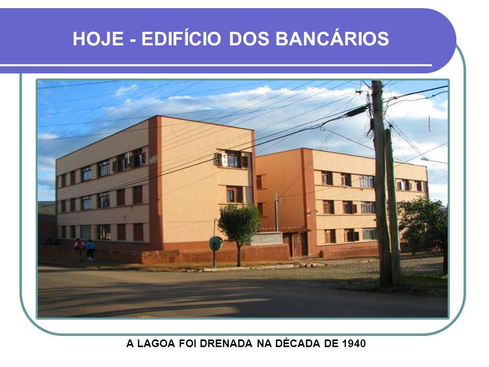 DAQUI SE VIA A LAGOA DE FRENTE RUA BARÃO DO RIO BRANCO
