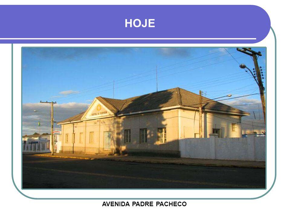 AVENIDA PADRE PACHECO HOJE