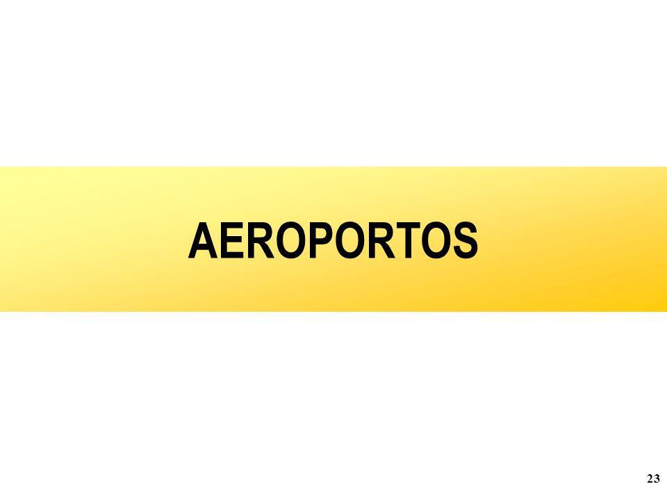 23 AEROPORTOS