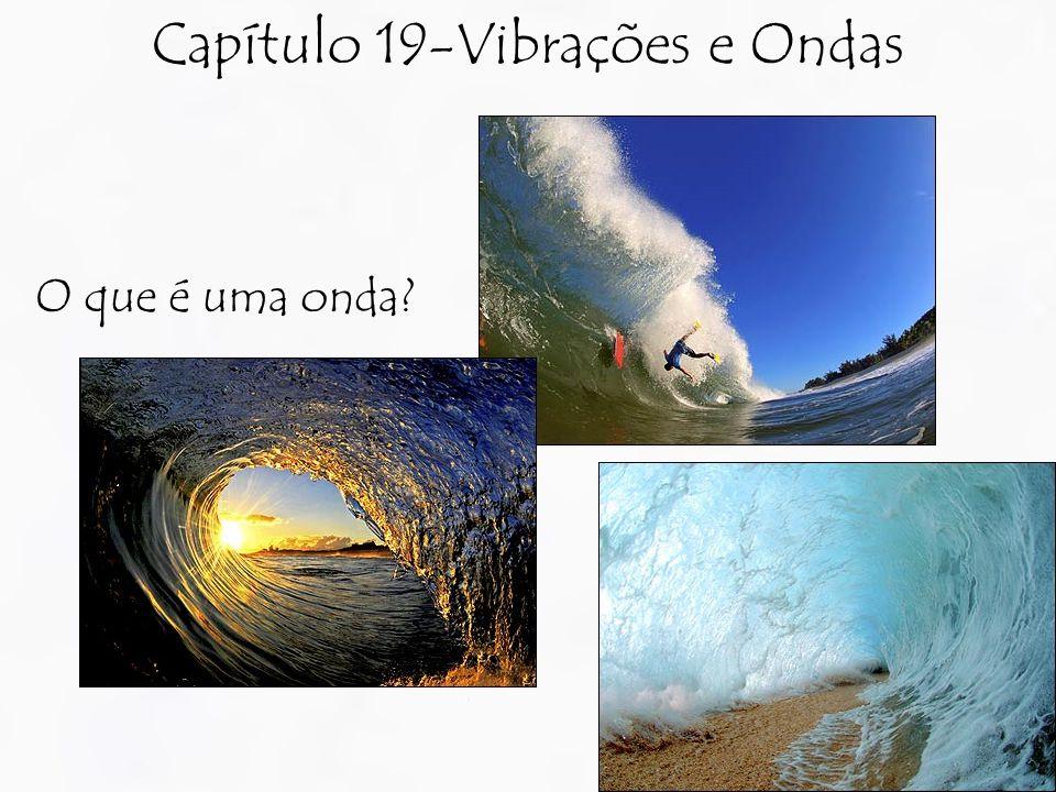 Capítulo 19-Vibrações e Ondas O que é uma onda?