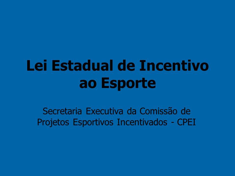 A Lei de Incentivo é um instrumento legal do Estado do Rio de Janeiro que dá incentivo fiscal para a empresa que promove eventos culturais e esportivos em seu território.
