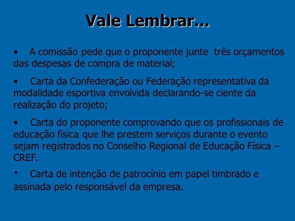 Ao requerer o incentivo fiscal, o patrocinador compromete-se a contribuir com recursos próprios (não incentivados) no valor mínimo de 20% da quantia do incentivo pleiteado e a veicular a marca do Estado do Rio de Janeiro.