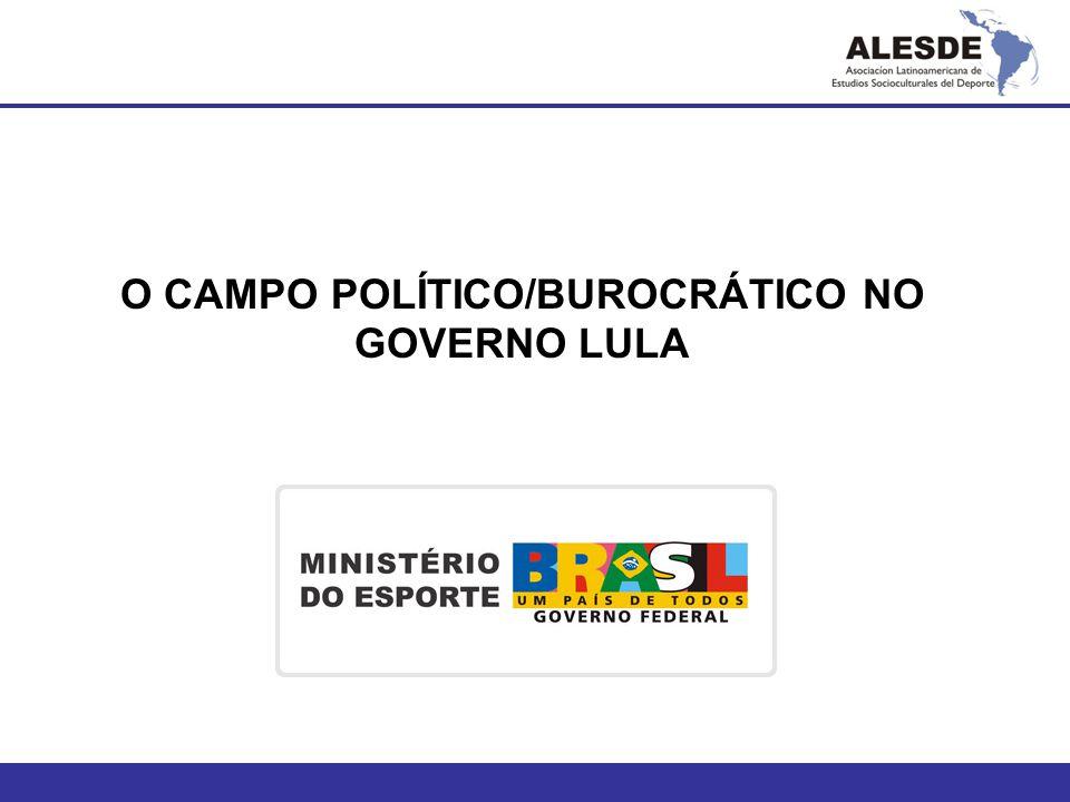 O CAMPO POLÍTICO/BUROCRÁTICO NO GOVERNO LULA