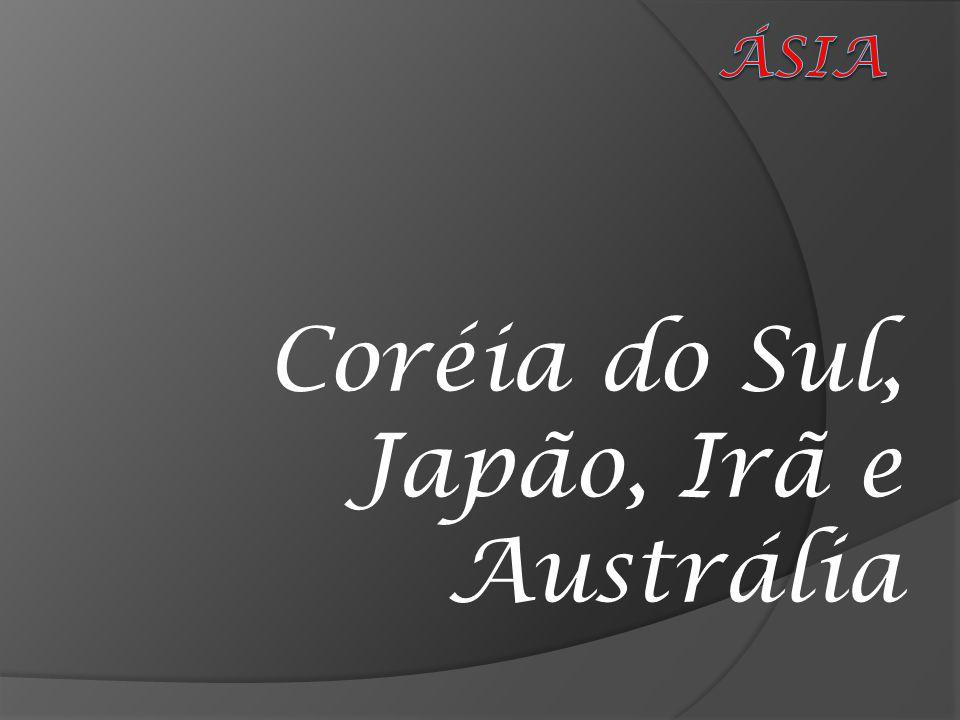Coréia do Sul, Japão, Irã e Austrália
