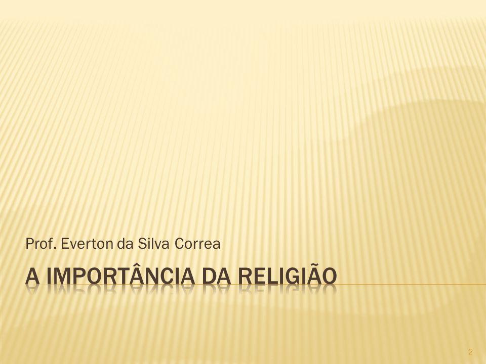 Prof. Everton da Silva Correa 2