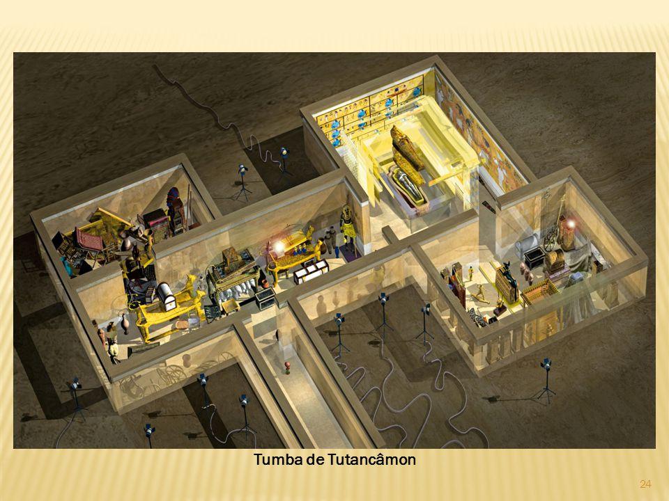 24 Tumba de Tutancâmon