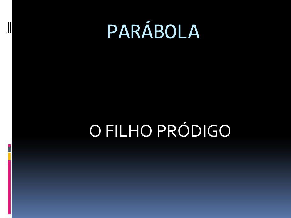 PARÁBOLA O FILHO PRÓDIGO