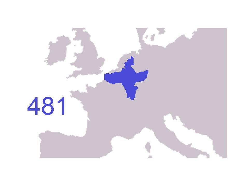 O Império Carolíngio No Natal de 800, o papa Leão III coroou Carlos Magno como Imperador Romano do Ocidente, dando início ao Império Carolíngio. Foi u