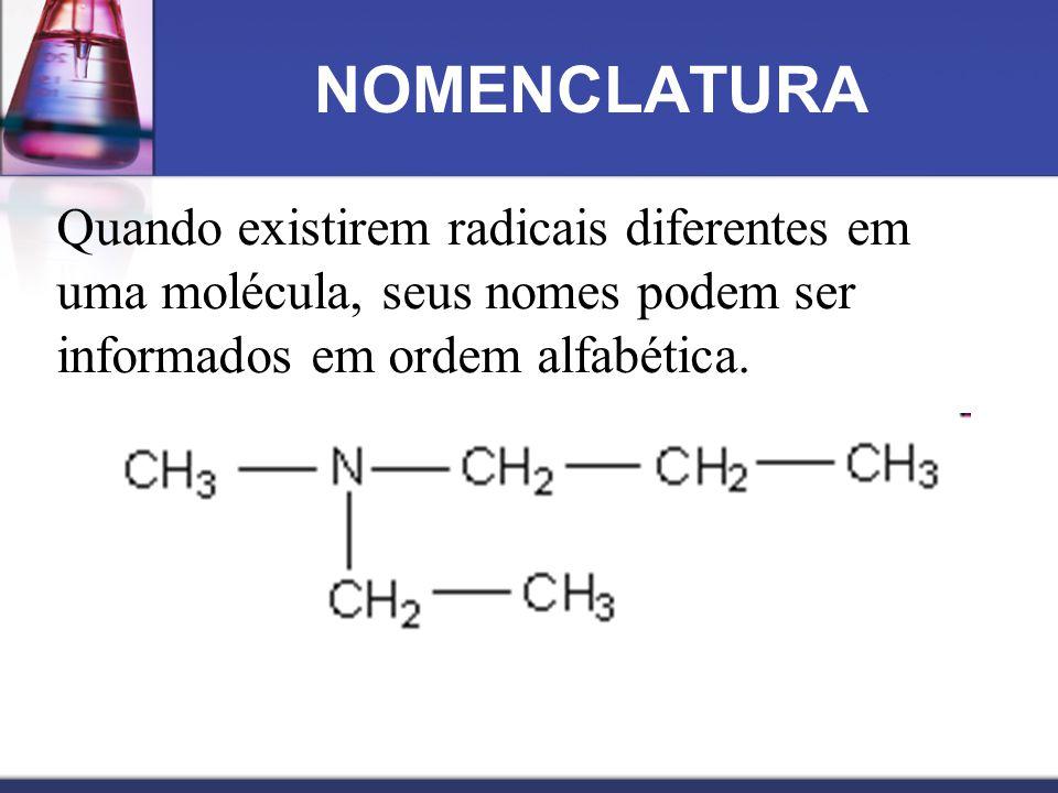 Trimetilamina dimetilpropilamina N—CH 2 CH 2 CH 3 CH 3