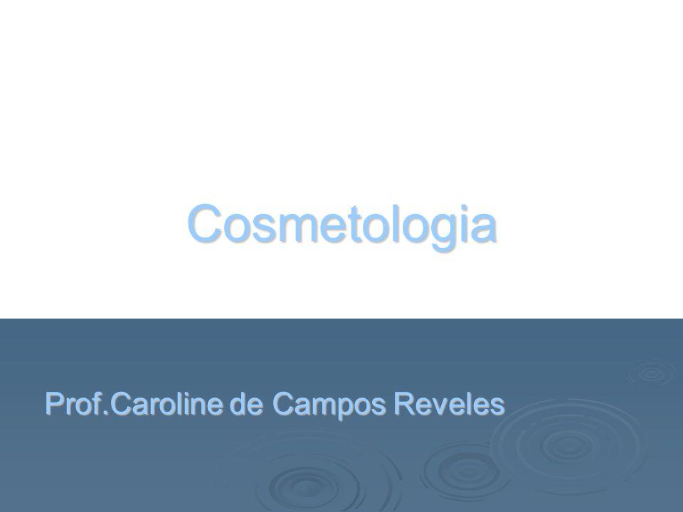 Origem da palavra  Cosmética: do grego Kosmêtikos (enfeitar, embelezar) Cosmetologia: Kosmetic Logia (EMBELEZAR) (ESTUDO/TRATAMENTO) (EMBELEZAR) (ESTUDO/TRATAMENTO)