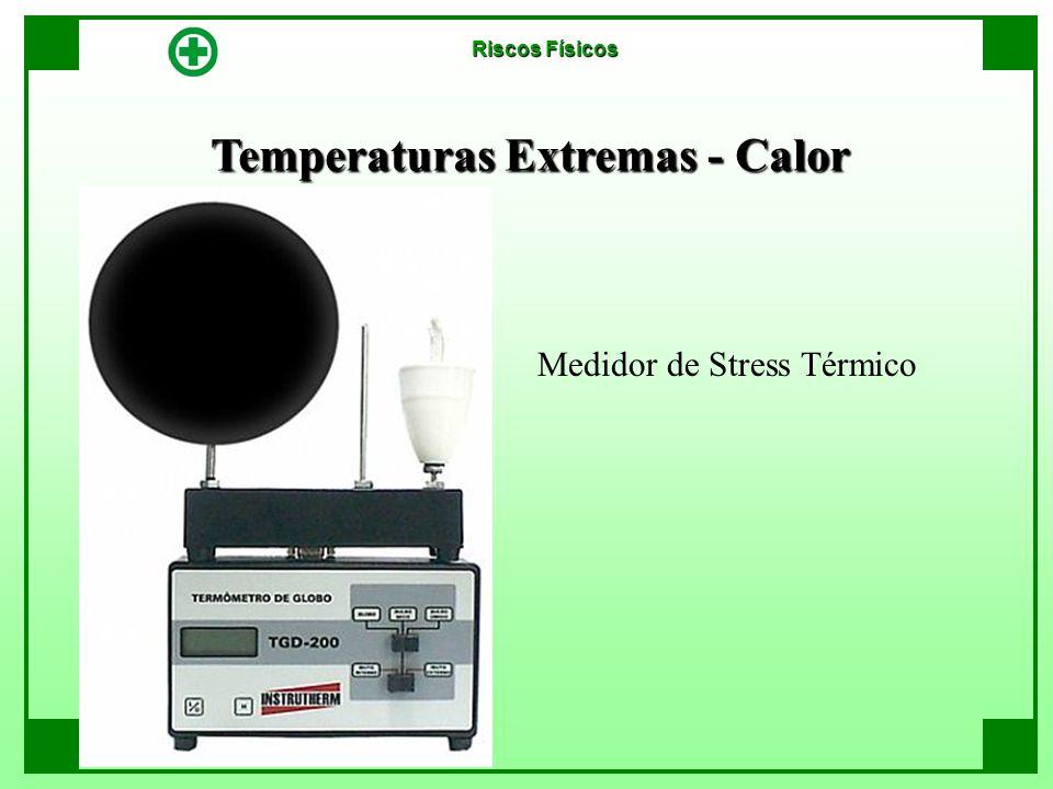 Temperaturas Extremas - Calor Riscos Físicos Medidor de Stress Térmico