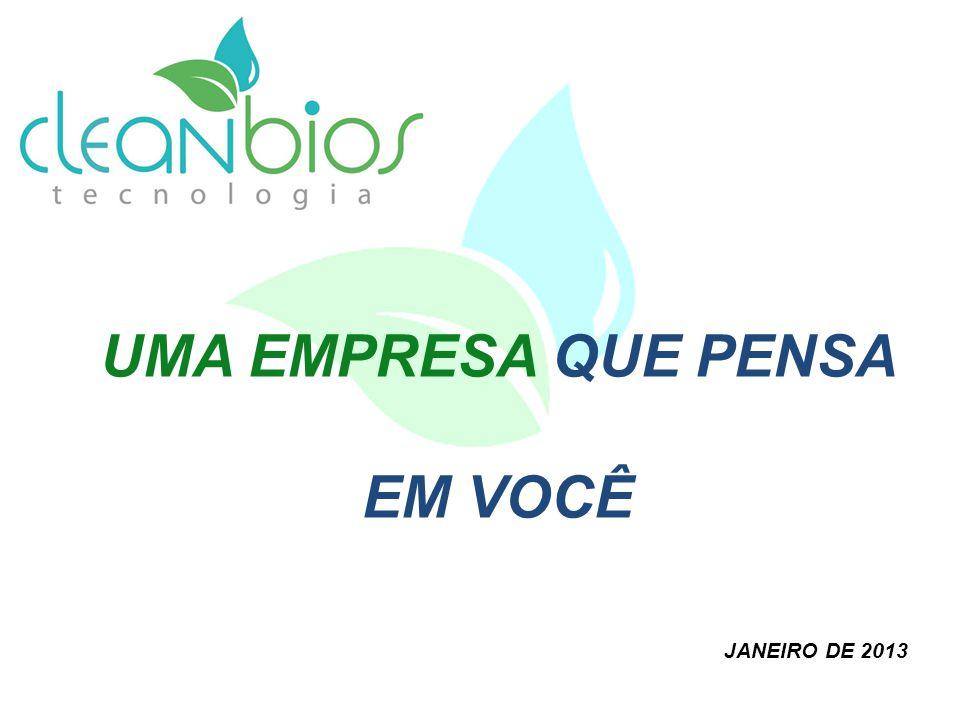 UMA EMPRESA QUE PENSA EM VOCÊ JANEIRO DE 2013