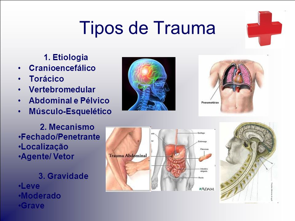 Tipos de Trauma 1.