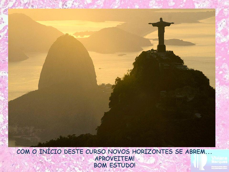 COM O INÍCIO DESTE CURSO NOVOS HORIZONTES SE ABREM... APROVEITEM! BOM ESTUDO!
