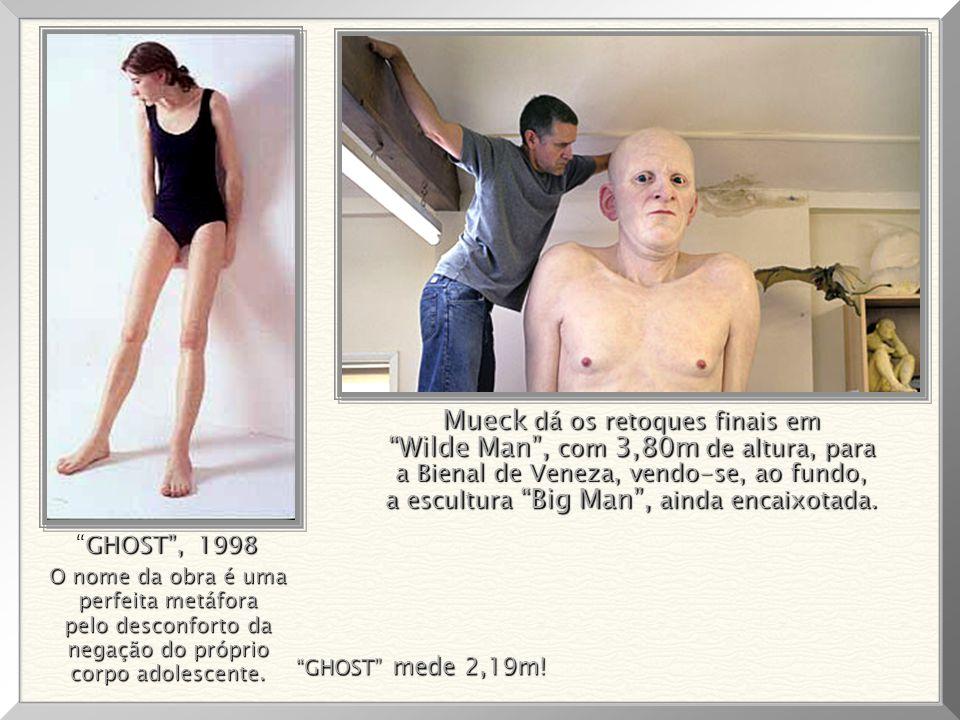 """Big Baby"", 1997 - com 0,87cm de altura. ""Big Baby"", 1997 - com 0,87cm de altura."