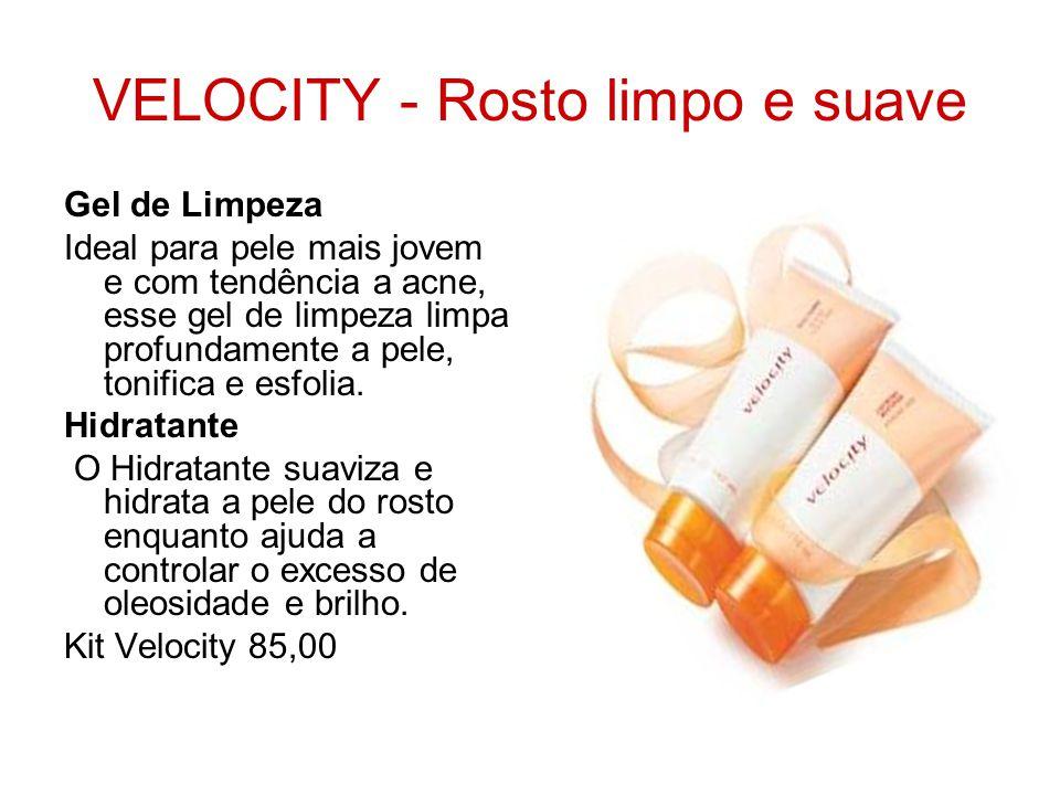 VELOCITY - Rosto limpo e suave Gel de Limpeza Ideal para pele mais jovem e com tendência a acne, esse gel de limpeza limpa profundamente a pele, tonif