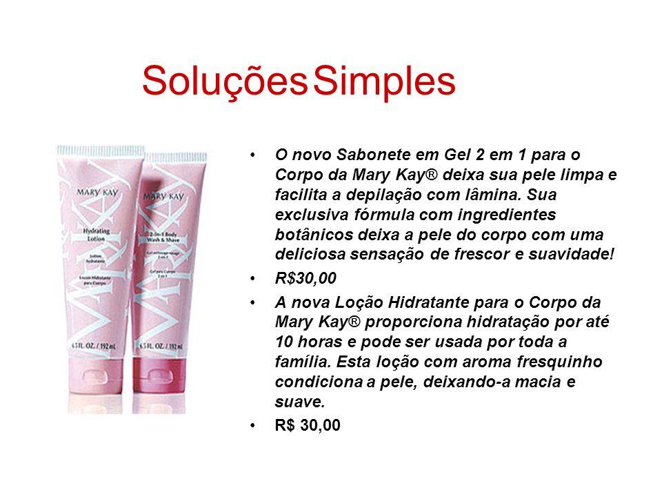 O novo Sabonete em Gel 2 em 1 para o Corpo da Mary Kay® deixa sua pele limpa e facilita a depilação com lâmina. Sua exclusiva fórmula com ingredientes