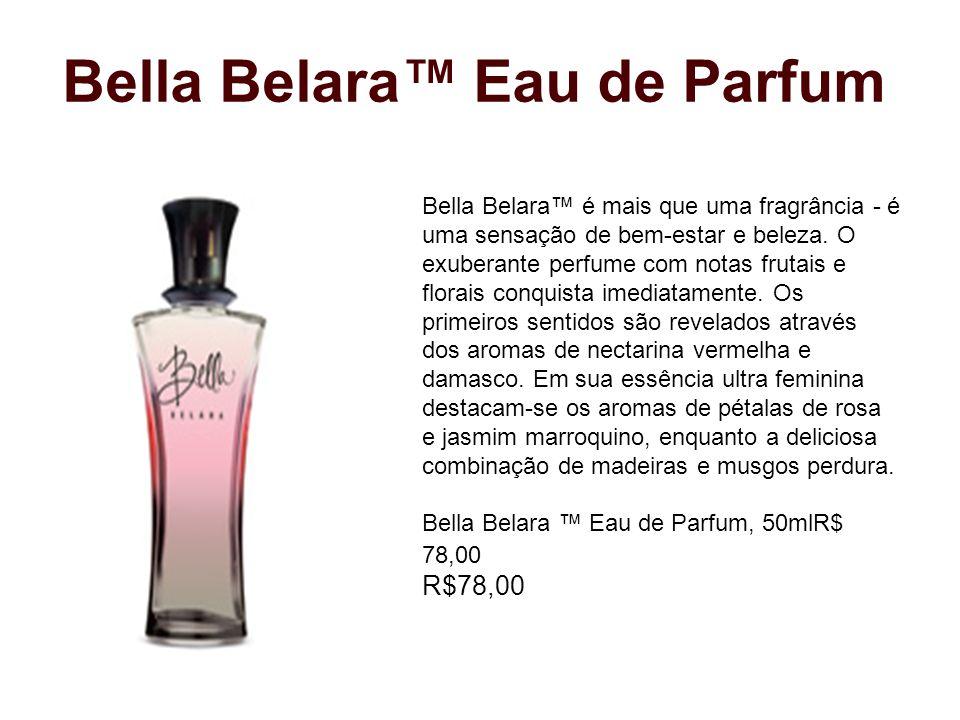 Bella Belara™ Eau de Parfum Bella Belara™ é mais que uma fragrância - é uma sensação de bem-estar e beleza. O exuberante perfume com notas frutais e f