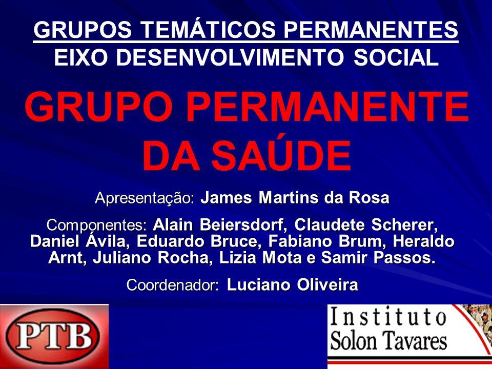 Apresentação: James Martins da Rosa Componentes: Alain Beiersdorf, Claudete Scherer, Daniel Ávila, Eduardo Bruce, Fabiano Brum, Heraldo Arnt, Juliano