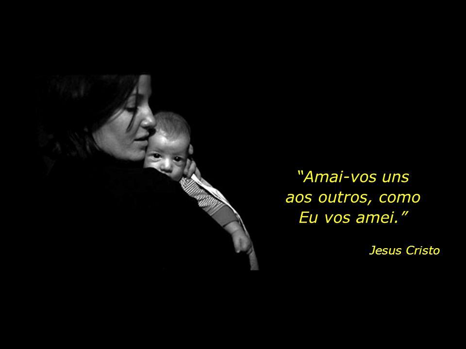 """""""Amai-vos uns aos outros, como Eu vos amei."""" Jesus Cristo"""