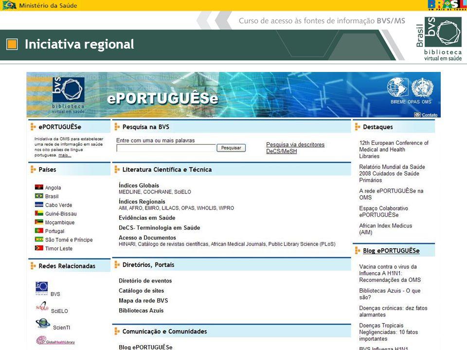 Iniciativa regional