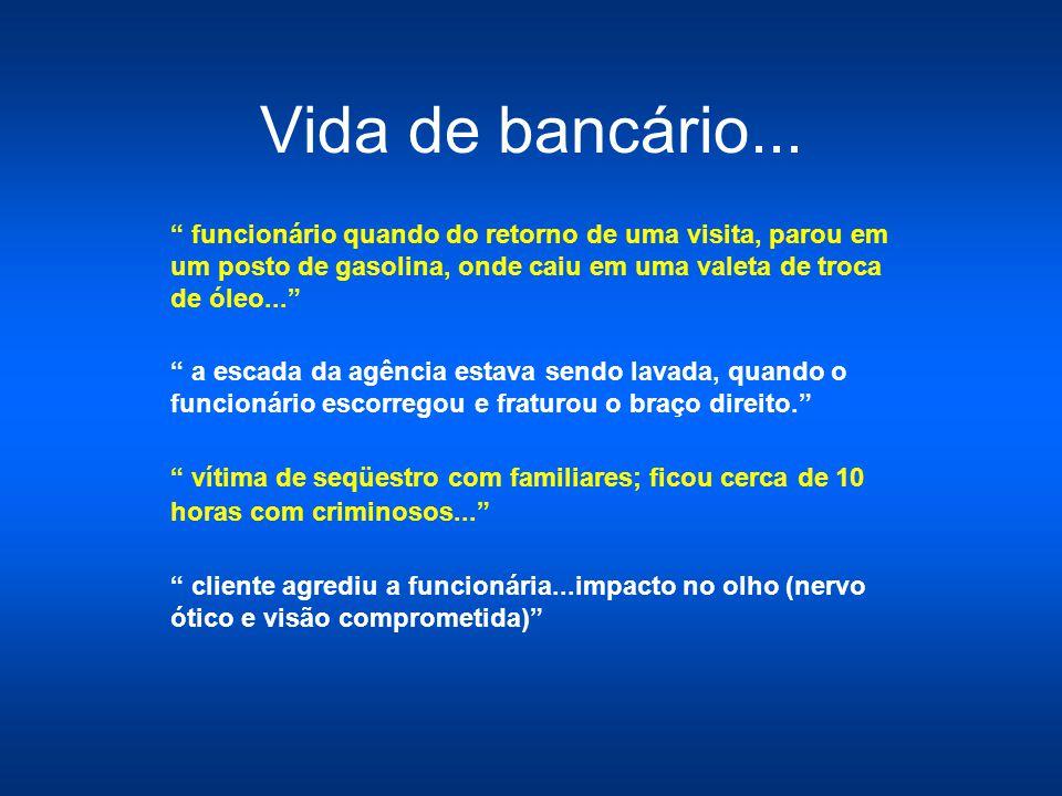 Vida de bancário...