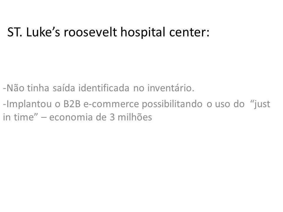 ST. Luke's roosevelt hospital center: -Não tinha saída identificada no inventário.