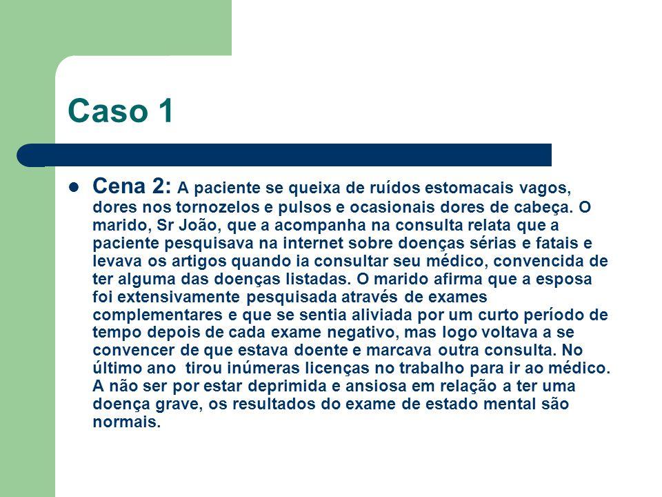 Caso 4: Cena 1: Luiz Guilherme, 24 anos, foi hospitalizado em um setor de neurologia com uma cegueira de início recente.