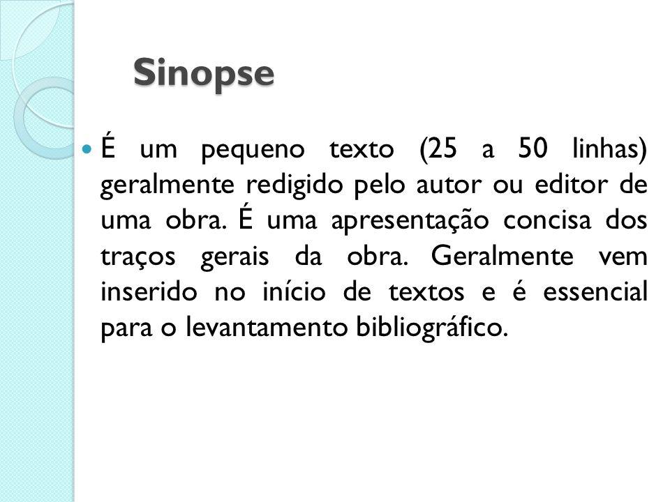 As Formas Básicas de Texto Científico Sinopse Resumo Resenha Crítica