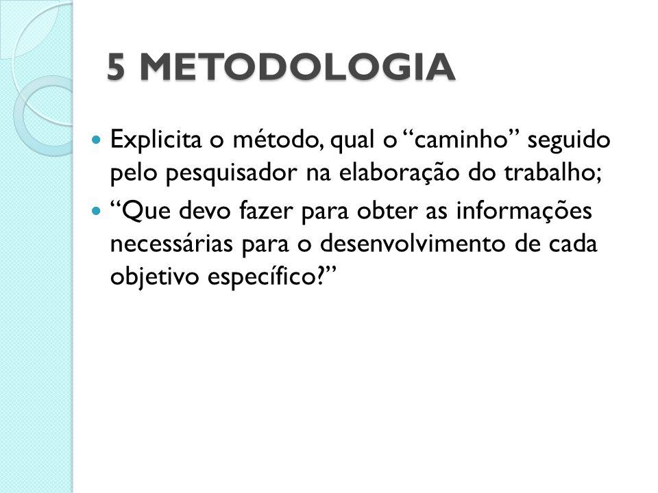 4 REVISÃO BIBLIOGRÁFICA Resgate das principais obras ou correntes que trataram do assunto estudado no projeto; É importante explicitar a relação dos a