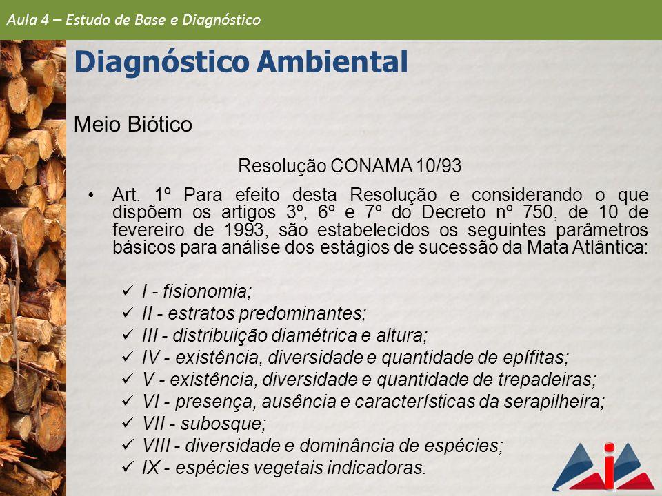 Resolução CONAMA 10/93 Art.