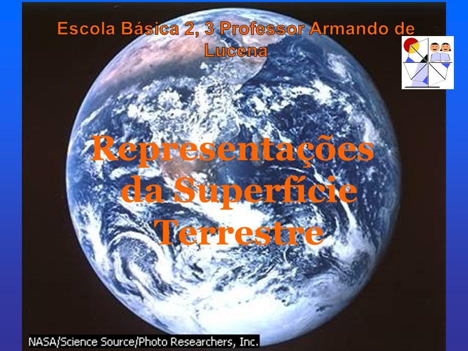 Globos Os globos apresentam as seguintes vantagens sobre os mapas: TEMA I - A TERRA: Estudos e Representações Representações da Superfície Terrestre representam a superfície terrestre sem deformações, pois não alteram a sua forma.