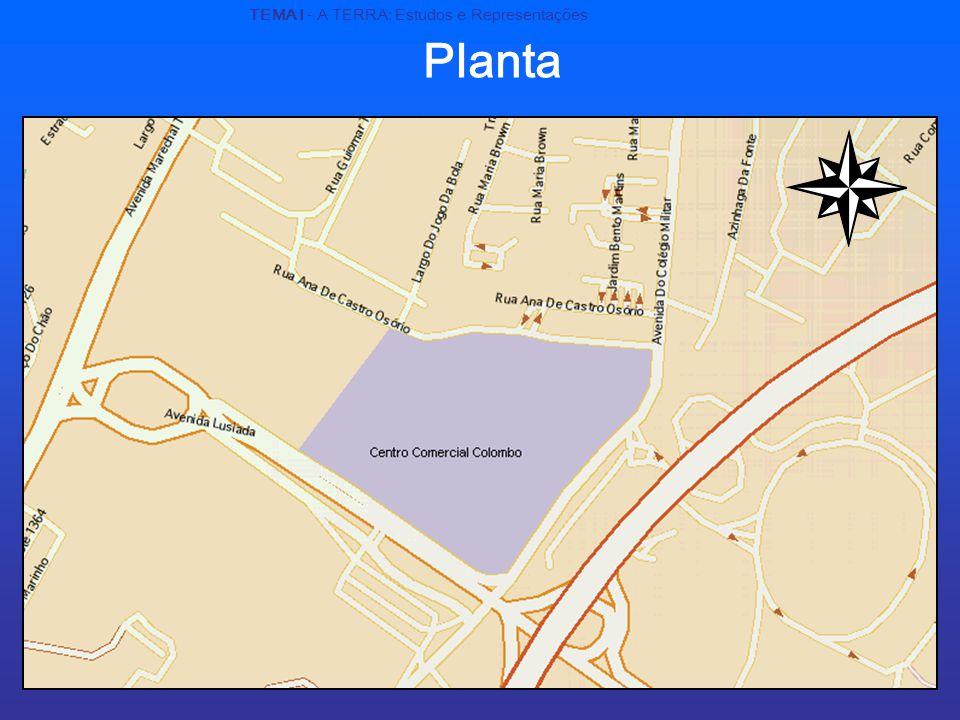 Planta TEMA I - A TERRA: Estudos e Representações