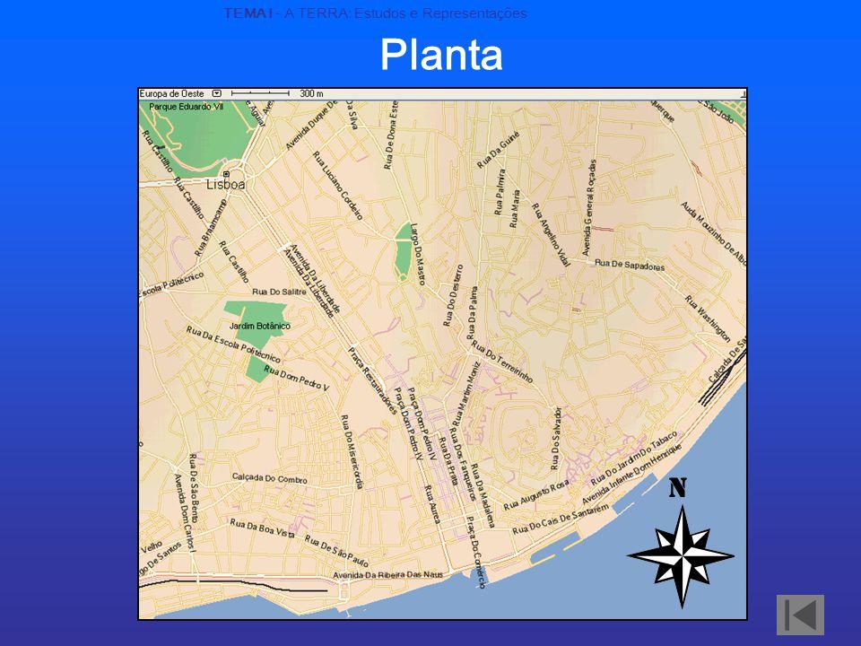 Planta N TEMA I - A TERRA: Estudos e Representações