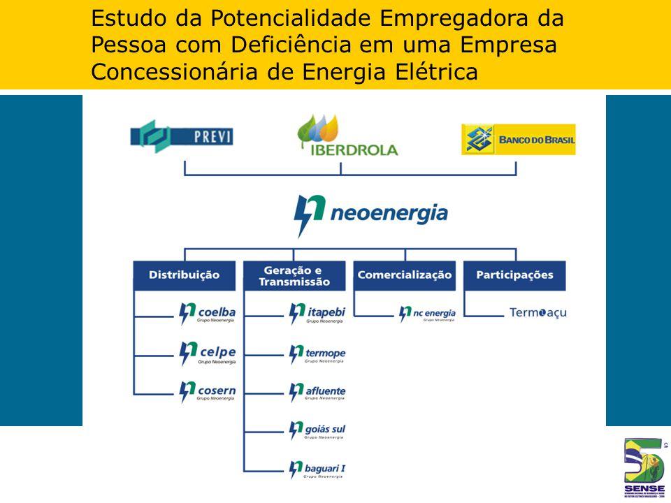 Estudo da Potencialidade Empregadora da Pessoa com Deficiência em uma Empresa Concessionária de Energia Elétrica