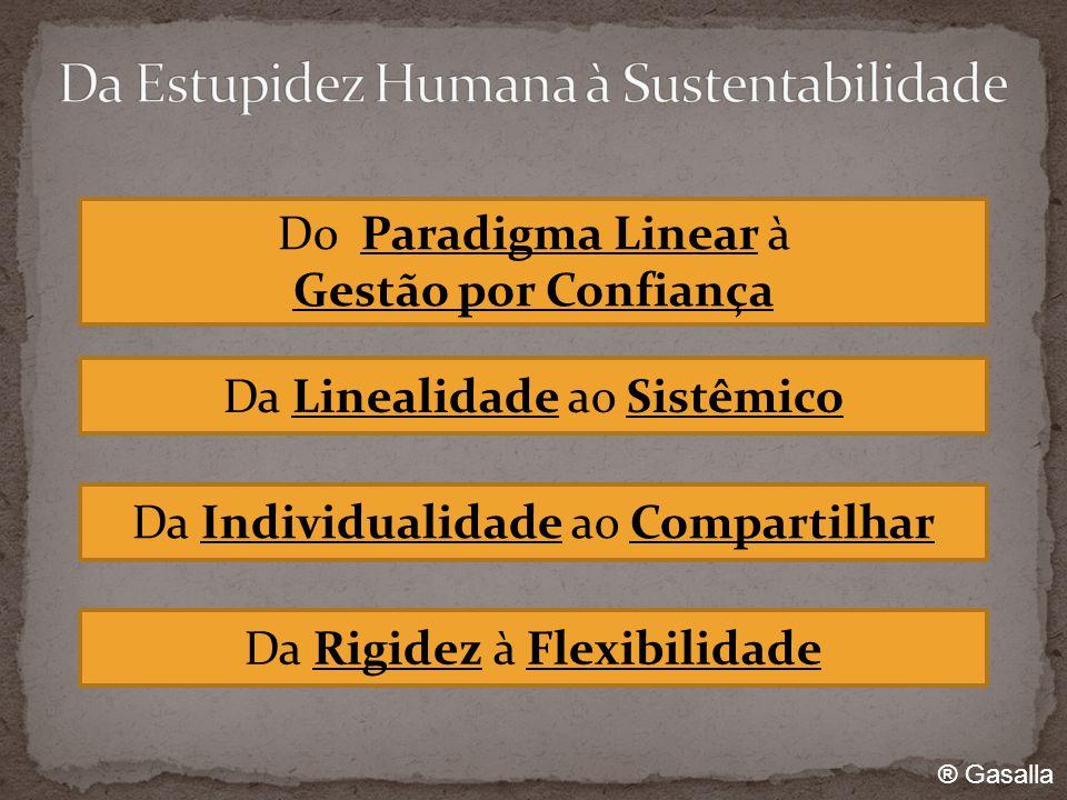 Da Linealidade ao Sistêmico Da Individualidade ao Compartilhar Da Rigidez à Flexibilidade Do Paradigma Linear à Gestão por Confiança